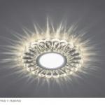 CD901-svetilnik-1-150x150 Светильник встраиваемый с белой LED подсветкой Feron CD901