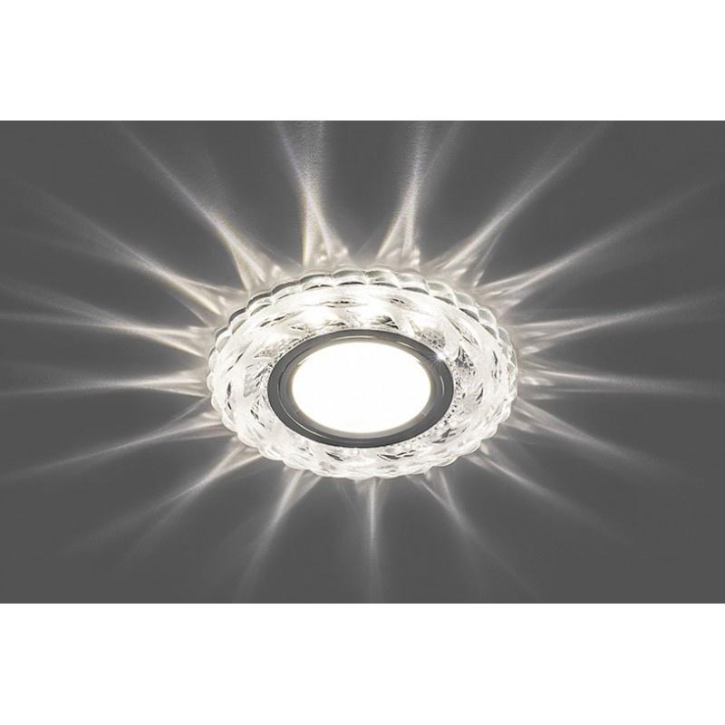Встраиваемый точечный светильник с светодиодной подсветкой Feron