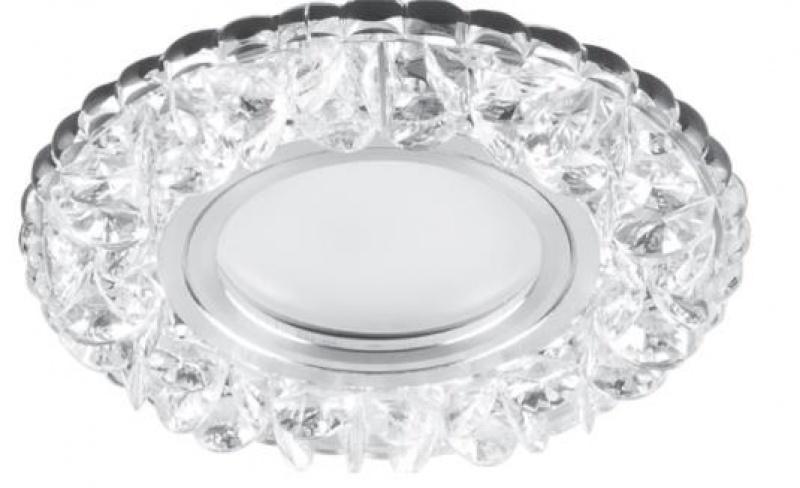 Встраиваемый светильник CD905 15LED*2835 SMD 4000K, MR16 50W G5.3, белый, хром Feron Feron, артикул: 28848