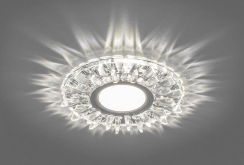Светильник потолочный встраиваемый со светодиодной подсветкой Feron CD911