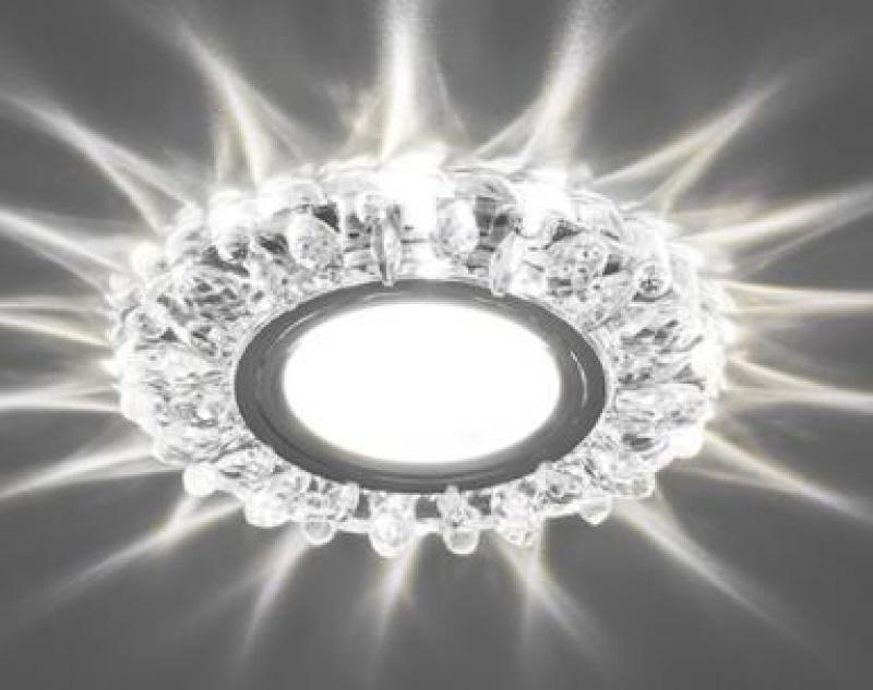 Светильник встраиваемый с белой LED подсветкой Feron CD916 потолочный MR16