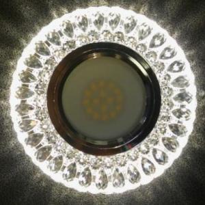 feron-906-vstraivaemyi-svetilnik-300x300 Точечный светильник с светодиодной подсветкой Feron CD906
