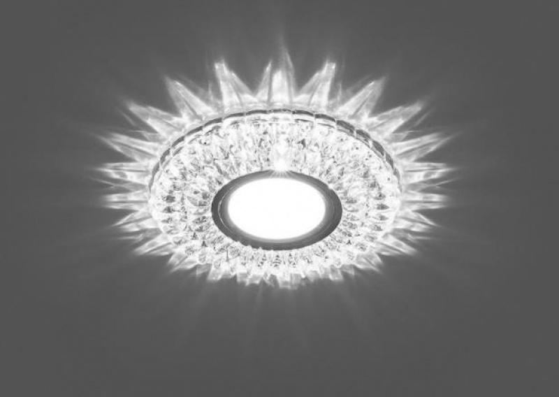 Встраиваемый точечный светильник с светодиодной подсветкой Feron CD937