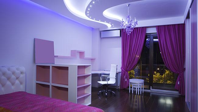 Натяжной потолок заказать в Минске или области очень просто!