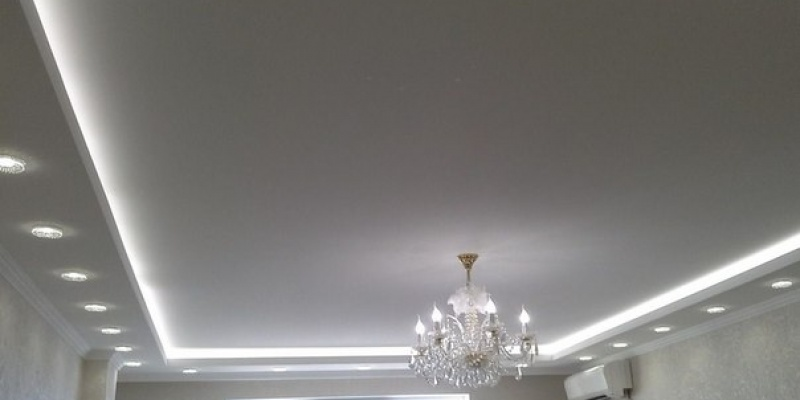 Если купить белый натяжной потолок….