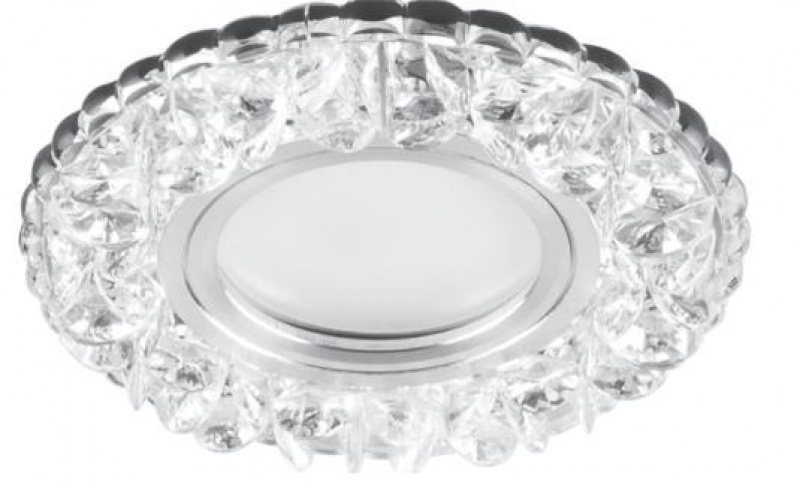 Встраиваемый светильник CD905 15LED*2835 SMD 4000K, MR16 50W G5.3, белый, хром Feron Feron минск