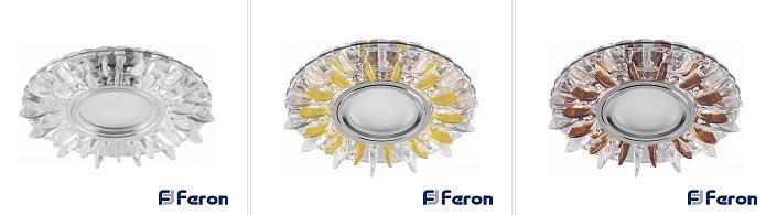 cd911-svetilnik Светильник встраиваемый с подсветкой CD911 Feron