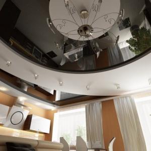 chyorno-belyj-natyazhnoj-potolok-v-minske Чёрно-белый натяжной потолок