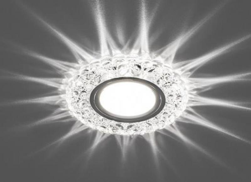 Встраиваемый точечный светильник с светодиодной подсветкой Feron CD939 купить